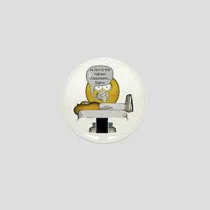 Smiley Massage Fart Mini Button