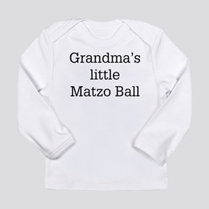 grandma's matzo bal Long Sleeve T-Shirt