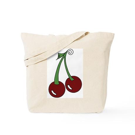 Sweet Cherries Tote Bag