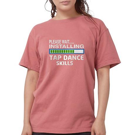 Mantenere La Calma E Toccare T-shirt Scura Delle Donne Di Ballo qM0Zb