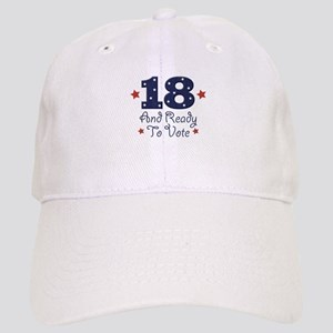 18 And Ready To Vote Cap