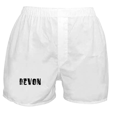 Kevon Faded (Black) Boxer Shorts