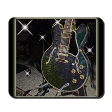 Semi Glow Guitar 2 Mousepad