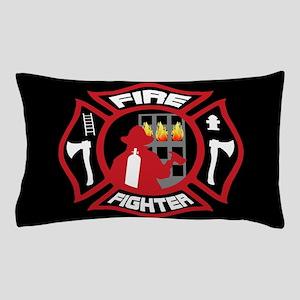 Modern Firefighter Badge Pillow Case