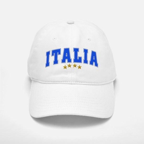Italia 4 Star European Soccer 2012 Baseball Baseball Cap