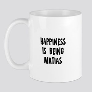 Happiness is being Matias Mug