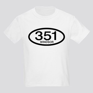 Vintage Ford 351 c.i.d. Windsor Kids Light T-Shirt