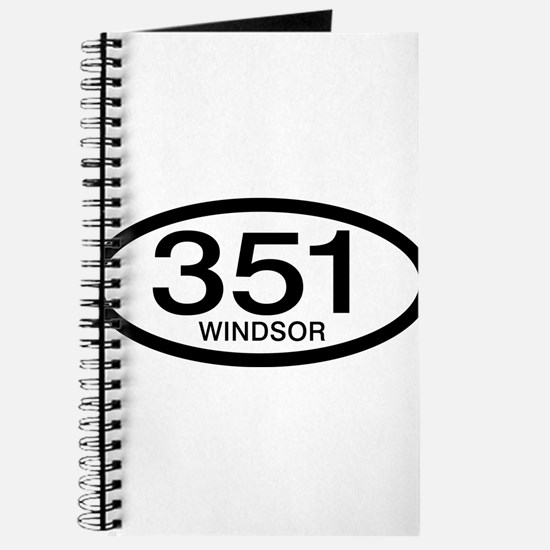 Vintage Ford 351 c.i.d. Windsor Journal