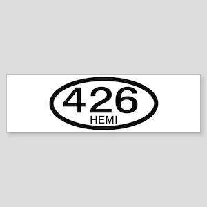 Mopar Vintage Muscle Car 426 Hemi Bumper Sticker