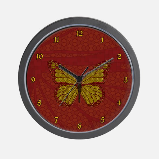 Chinese Monarch Wall Clock