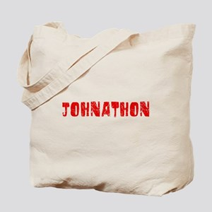 Johnathon Faded (Red) Tote Bag