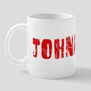 Johnathon Faded (Red) Mug