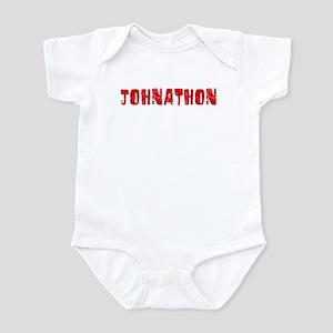 Johnathon Faded (Red) Infant Bodysuit