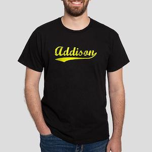 Vintage Addison (Gold) Dark T-Shirt