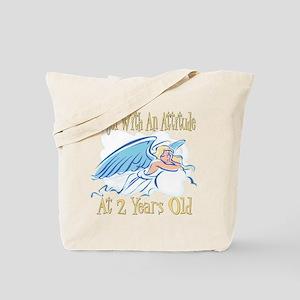 Angel Attitude 2nd Tote Bag