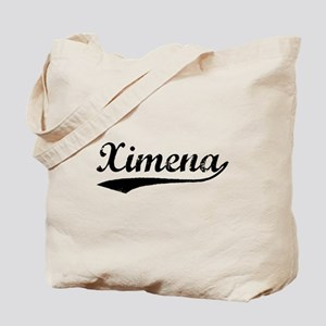 Vintage Ximena (Black) Tote Bag