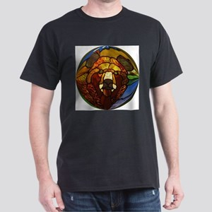STAINED GLASS BEAR HEAD T-Shirt