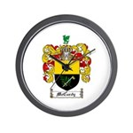 McCurdy Family Crest Wall Clock