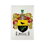McCurdy Family Crest Rectangle Magnet (10 pack)