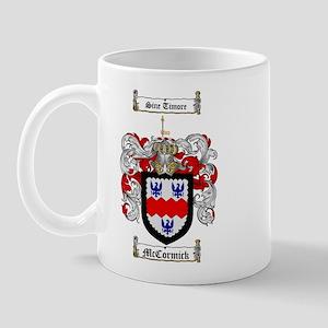 McCormick Family Crest Mug