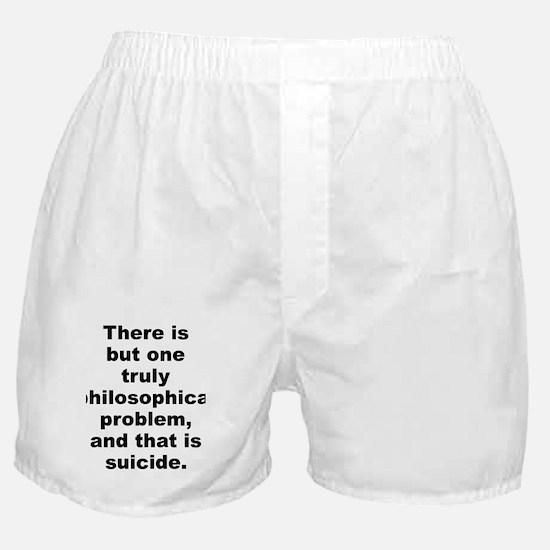 Unique Camus quotation Boxer Shorts