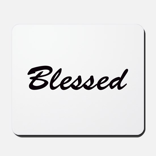 Blessed Mousepad