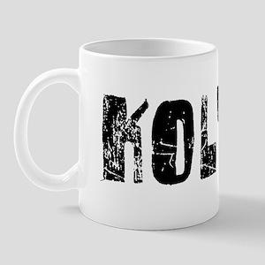 Kolton Faded (Black) Mug