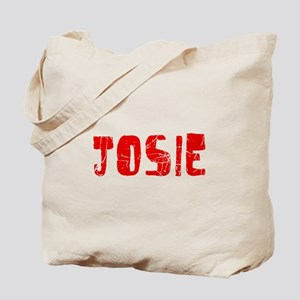 Josie Faded (Red) Tote Bag