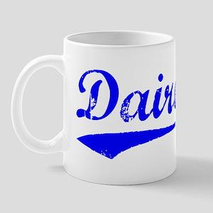 Vintage Dairen (Blue) Mug