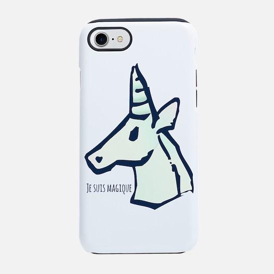I'm Magical (French) Unicorn iPhone 8/7 Tough Case