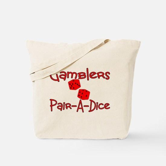Gamblers Pair-A-Dice Tote Bag