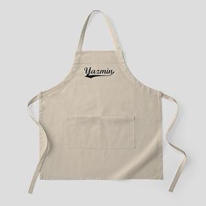Vintage Yazmin (Black) BBQ Apron