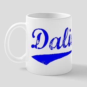 Vintage Dalian (Blue) Mug