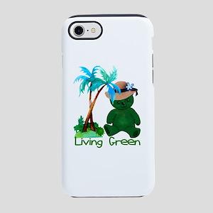 Living Green Bear iPhone 8/7 Tough Case