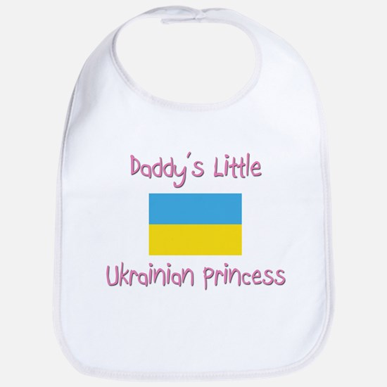 Daddy's little Ukrainian Princess Bib