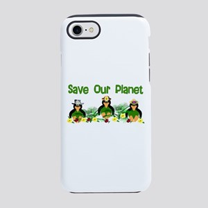 Penguins For The Planet iPhone 8/7 Tough Case