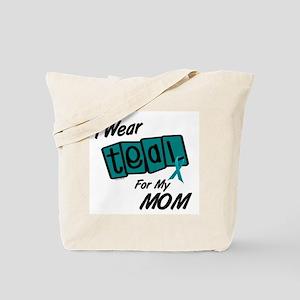 I Wear Teal 8.2 (Mom) Tote Bag