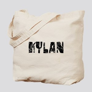 Kylan Faded (Black) Tote Bag