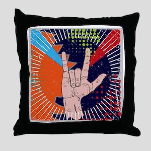 PopArt Style Throw Pillow