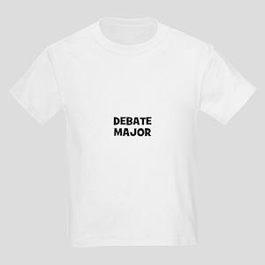 Debate Major Kids Light T-Shirt