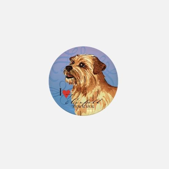 Norfolk Terrier Mini Button