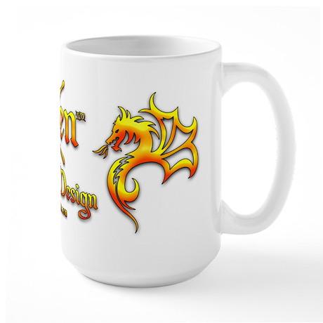 Xen Tattoo Design Large Mug