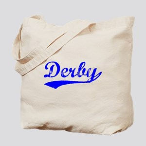 Vintage Derby (Blue) Tote Bag