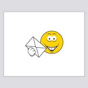 Postal Smiley Face Small Poster