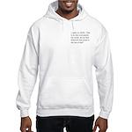 1 John 5:5 Hooded Sweatshirt