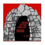 1 John 5:5-A Tile Coaster