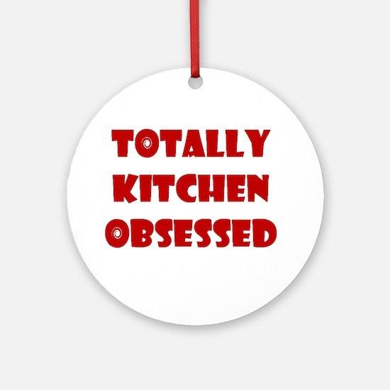 Totally Kitchen Obsessed Keepsake (Round)