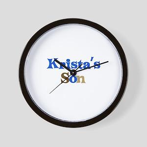 Krista's Son Wall Clock