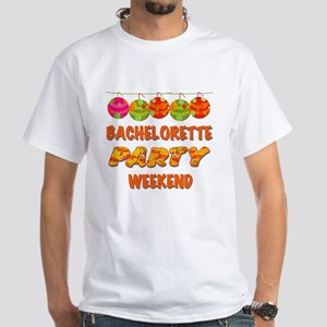 Tropical Bachelorette Weekend White T-Shirt