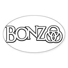 Bonzo - John Bonham Drummer design Sticker